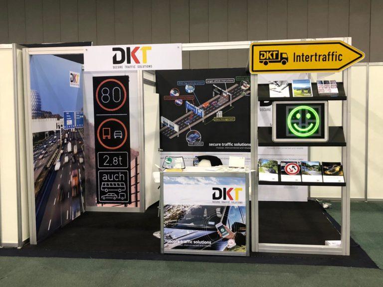 DKT Messepräsenz in Halle c, Stand 1333 im Citibanamex Center